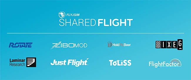 FlyJSim Developer - Shared Flight