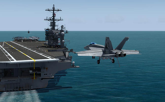 Just Flight - DC Designs FA-18 E, F & G Super Hornet