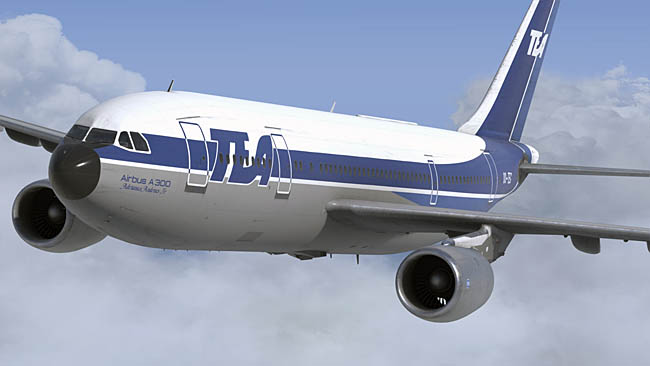 Just Flight New Previews of A300B4