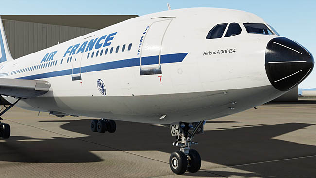 Just Flight Previews A300 For Prepar3D v5
