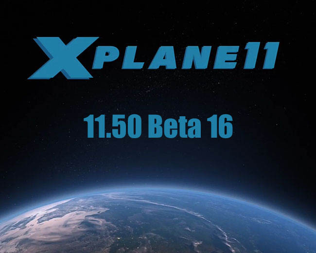 X-Plane 11.50 Beta 16: Less Weird, Slightly Faster