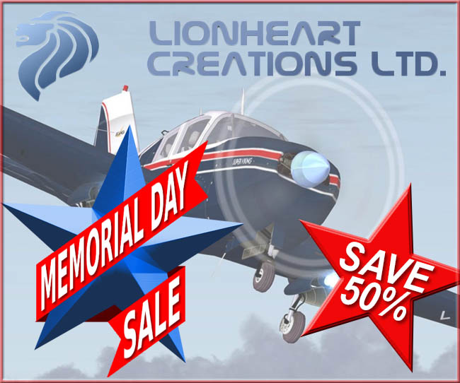 Lionheart Creations Memorial Day Sale