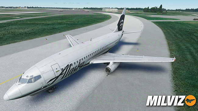 Milviz Previews Their 737 Running In MSFS
