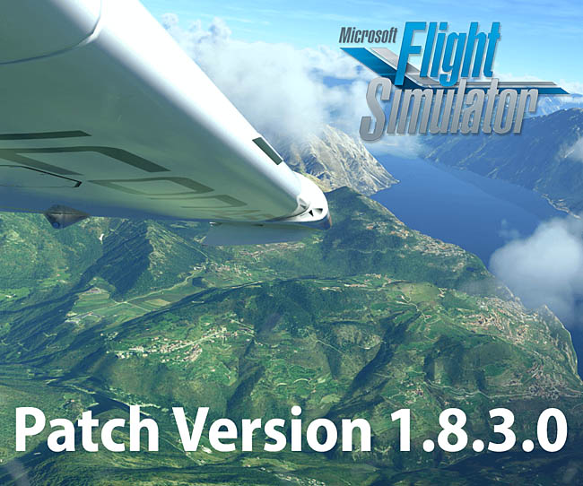 MSFS Patch Version 1.8.3.0 Is Now Available