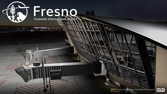 Orbx - KFAT Fresno Yosemite Airport Released For X-Plane 11