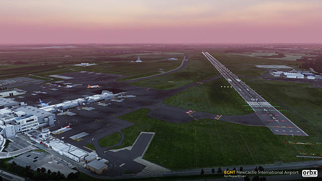 Orbx Previews Newcastle Airport P3D