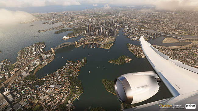 Orbx Announces Sydney Cityscape for MSFS