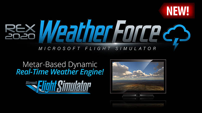 Announcing REX Weather Force for Microsoft Flight Simulator