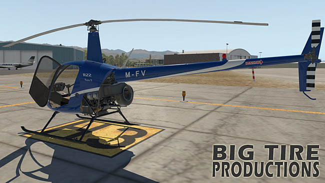Big Tire Productions - Robinson R22