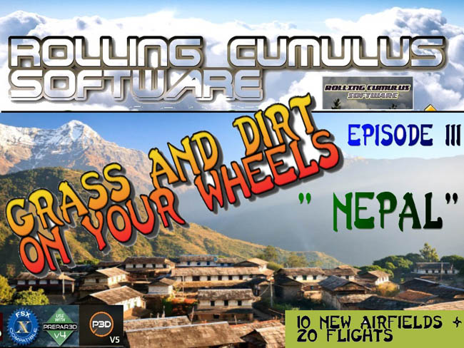 Rolling Cumulus Announces Grass & Dirt On Your Wheels Episode 3