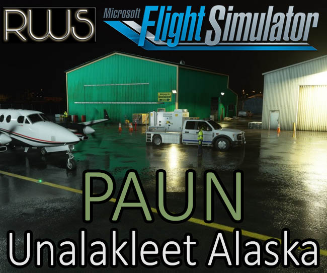 Purchase RWS - PAUN Unalakleet Alaska for MSFS 2020