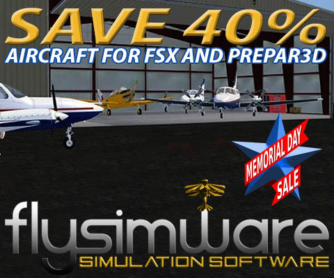 Flysimware Memorial Day Sale