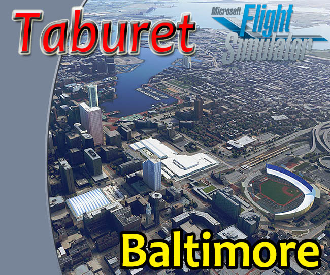 Taburet - Baltimore for MSFS 2020