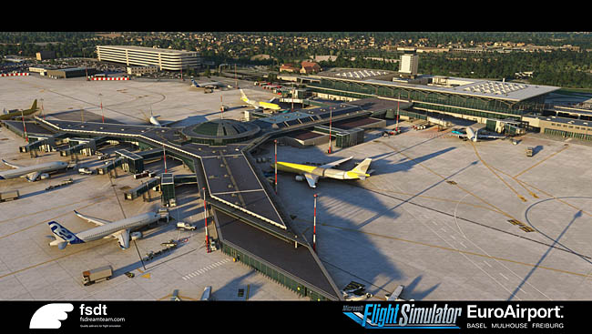 Fsdreamteam Announces Basel Airport For MSFS