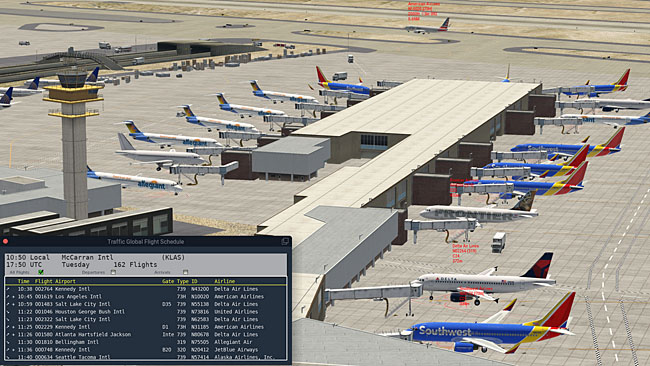 Just Flight - Traffic Global for X-Plane 11