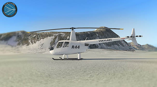 VSKYLABS Announces R44 Helicopter