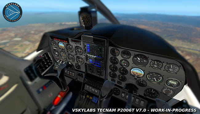 VSKYLABS Tecnam P2006T Project v7.0 Coming Soon