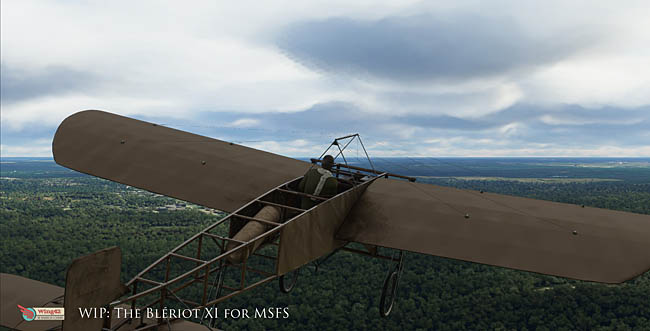 Wing42 Bleriot XI For MSFS 2020 Nears Release