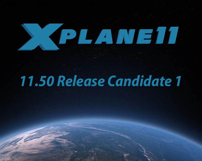 X-Plane 11.50 Release Candidate 1