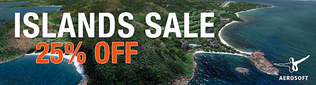 Aerosoft Islands Sale