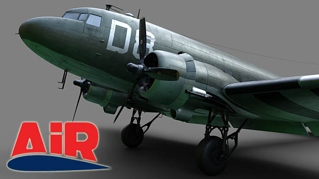 Airfoillabs Previews DC-3/C-47