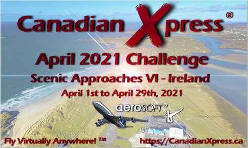 Canadian Xpress April 2021 Monthly Challenge