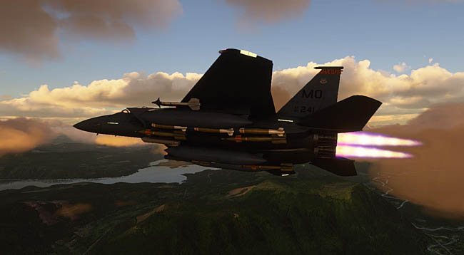 Just Flight - DC Designs - F-15 C, D, E, I Eagle for MSFS
