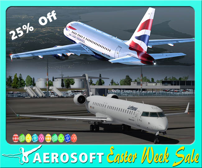 Aerosoft Announces Easter Weekend Sale