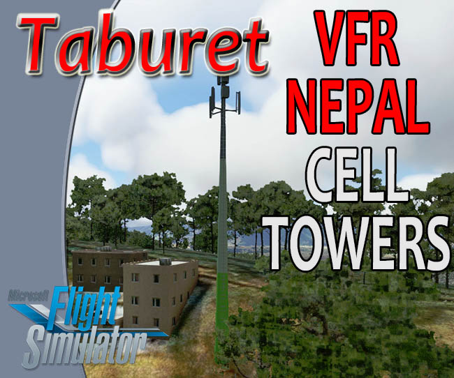 Taburet - Nepal Cellular Towers for MSFS