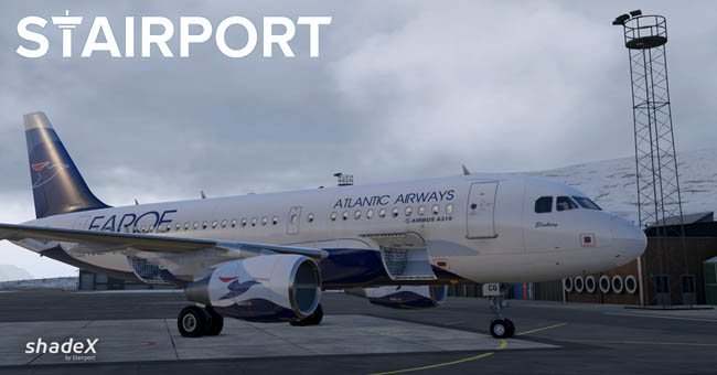 Stairport Sceneries Announces shadeX For X-Plane