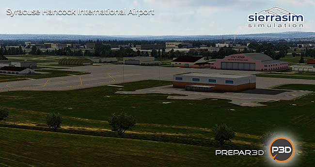 Sierrasim - KSYR Syracuse Hancock International Airport P3D