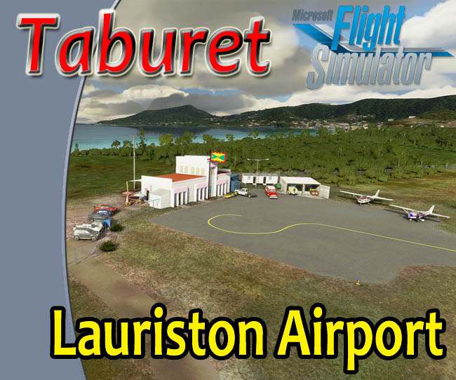 Taburet - Lauriston Airport For MSFS 2020