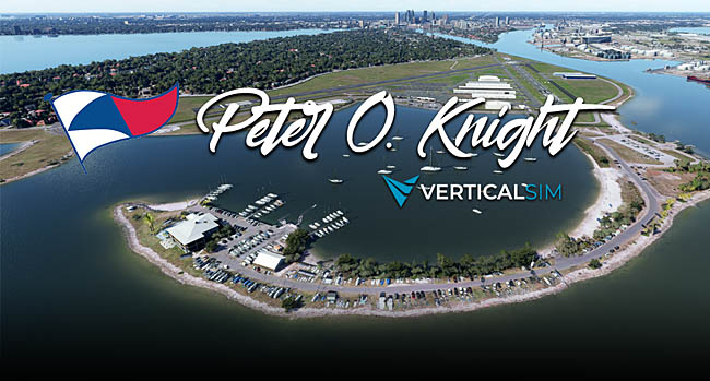 Verticalsim Update on Peter O. Knight Airport MSFS