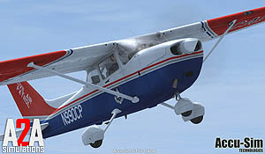 Cessna 172 Trainer by A2A Simulations