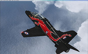 Just Flight - BAe Hawk T1/A for FSX exterior