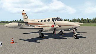 Carenado - Cessna 340 for X-Plane