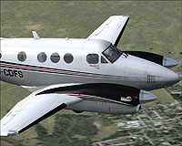 Beechcraft C90B King Air by Carenado