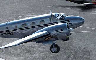Carenado - Beechcraft D18S