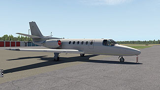 Carenado S550 Citation II
