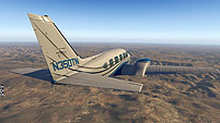 Alabeo Piper PA-31 Navajo Chieftain for X-Plane