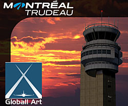 Globall Art - CYUL Montreal Trudeau Airport