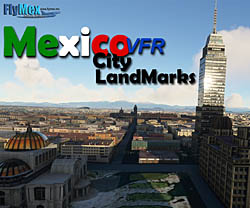 Purchase FlyMex - Mexico City Landmarks for MSFS 2020