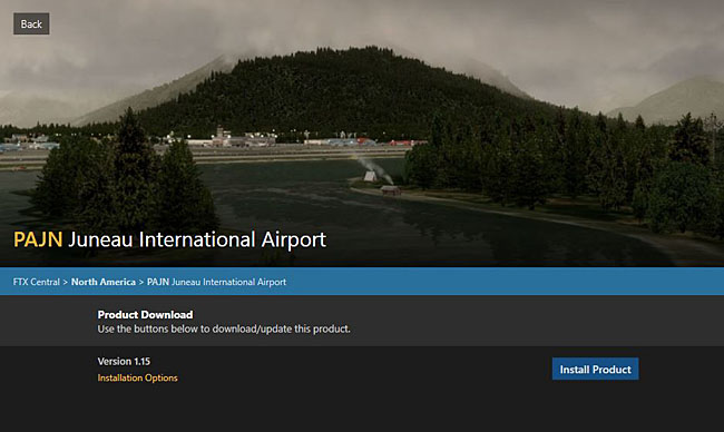 ORBX - PAJN Juneau International Airport