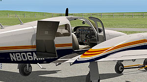 Alabeo - Piper PA44 Seminole for X-Plane