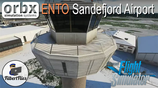 Review:  Orbx Sandefjord Torp Airport ENTO For MSFS 2020