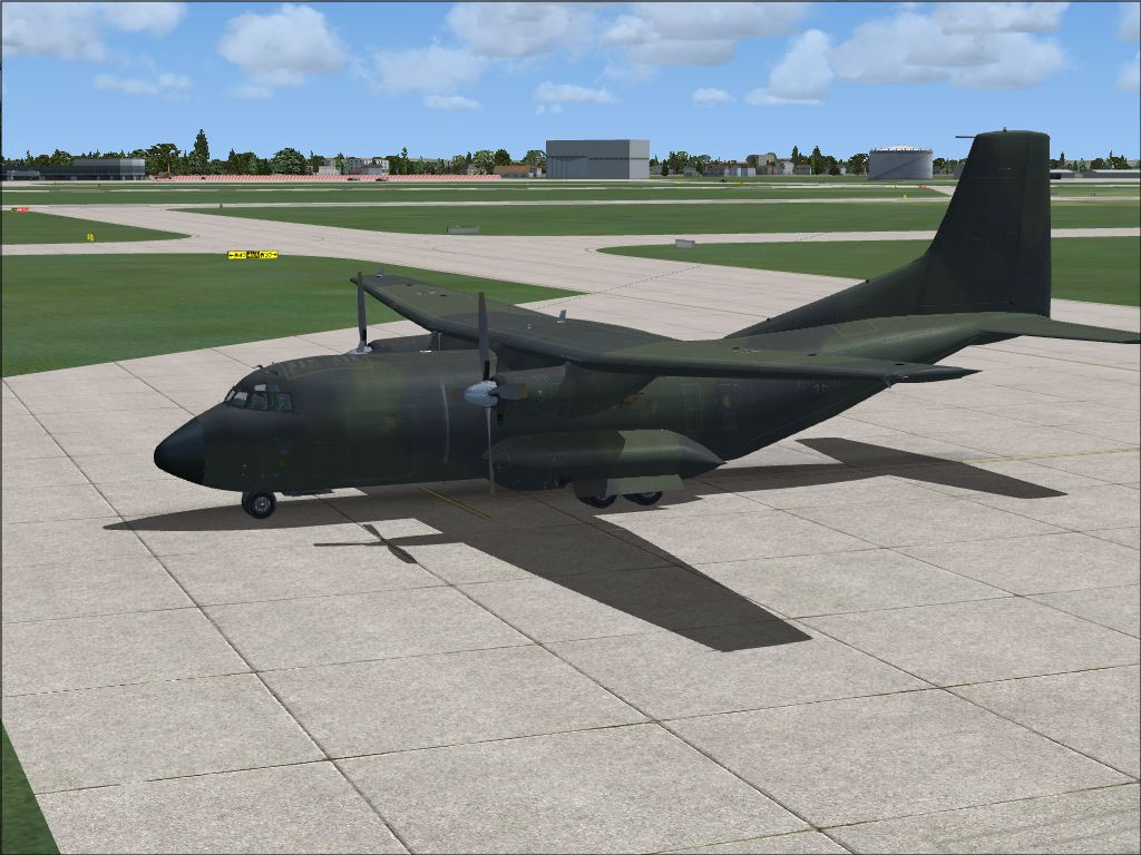 Transall C-160 by JSS Simulations