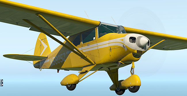 Alabeo - Piper PA22 Tri-Pacer for X-Plane