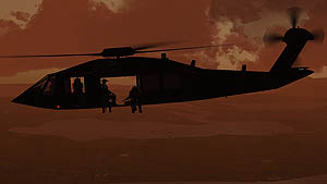 UH-60X Stealth Blackhawk by Area 51 Simulations
