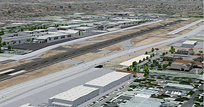 Van Nuys KVNY by FSX Photoreal