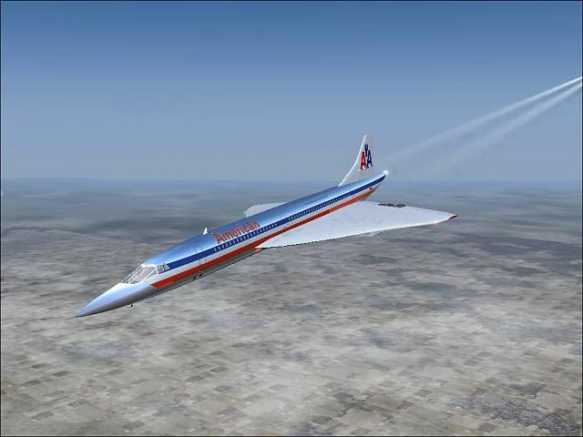 Concorde In A What If American Airlines Had One Paint Scheme